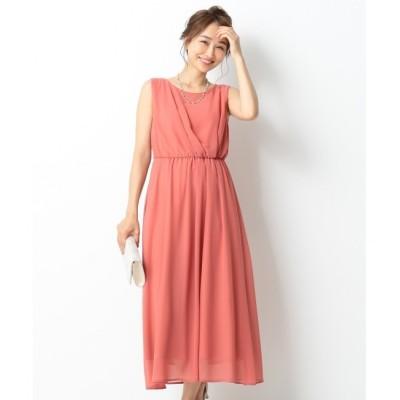 【エニィスィス/any SiS】 アシメタックミディー ドレス