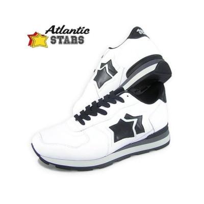 2000円OFF対象/アトランティックスターズ Atlantic STARS メンズ スニーカー ANTARES ECOO 81N ホワイト