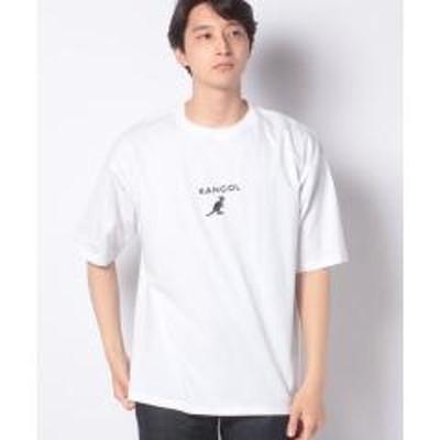 WEGO(ウィゴー)∴WEGO/KANGOL 刺繍Tシャツ