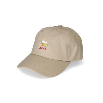 OVERRIDE / 【CASTANO】CA SOUVENIR CAP [生ビール] MEN 帽子 > キャップ