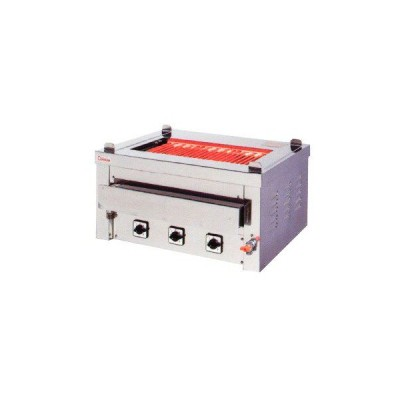 送料無料 押切電機 卓上型 電気グリラー(卓上万能タイプ) 給 排水付 G-10T