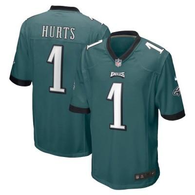 ナイキ メンズ Tシャツ トップス Jalen Hurts Philadelphia Eagles Nike Player Jersey