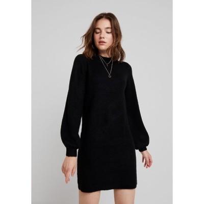 オブジェクト ワンピース レディース トップス OBJEVE NONSIA - Jumper dress - black
