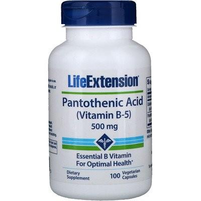パントテン酸、(ビタミンB-5)