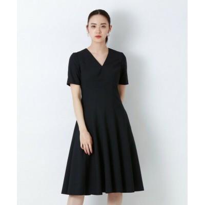 EPOCA/エポカ ◆◆オックスストレッチ ドレス ネイビー2 40
