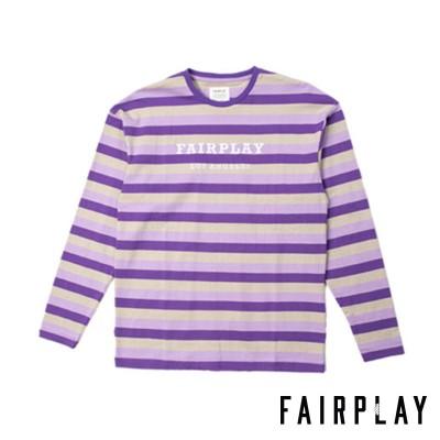 【FAIRPLAY BRAND/フェアプレイブランド】RUDY クルーネックシャツ / PURPLE(S)