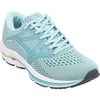 ミズノ スニーカー シューズ レディース Wave Inspire 17 Running Sneaker (Women's) Eggshell Blue/Dusty Turquoise