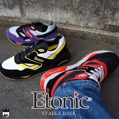 エトニック Etonicステイブルベース メンズ スニーカー STABLE BASE ローカット バーニーズ ニューヨーク 復刻モデル レトロランニング ランニングシューズ 靴