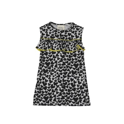 DOUUOD ワンピース&ドレス ブラック 3 コットン 100% ワンピース&ドレス