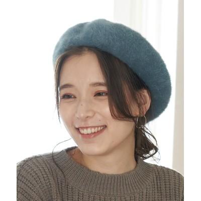 ロペピクニックパサージュ/シャギーベレー/ブルー系/F