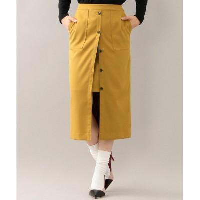 スカート 【GUILD PRIME】レイヤードスカート