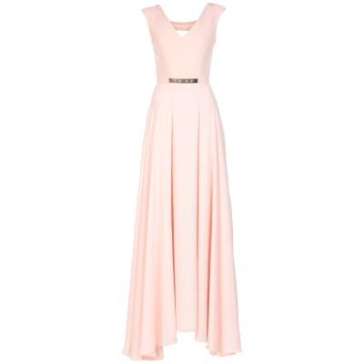 MARY D'ALOIA® ロングワンピース&ドレス ライトピンク 44 ポリエステル 100% ロングワンピース&ドレス
