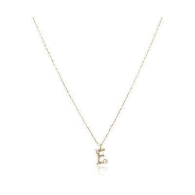 [ザ・リトル・クラシックス] ダイヤモンド 0.01ct イエローゴールド K10 ネックレス 109P0099E (ゴールド)