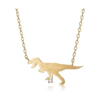 [ブルーム] 【WEB限定】シルバー イエローゴールド ダイヤモンド ティラノサウルス ネックレス BSPYB0063940