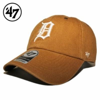 47ブランド カーハート コラボ ストラップバックキャップ 帽子 メンズ レディース 47BRAND CARHARTT MLB デトロイト タイガース フリーサ