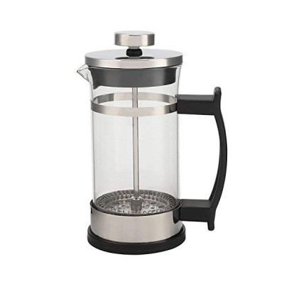 Zer one コーヒーポットステンレス鋼フレンチプレスフィルターポット家庭用ティーメーカー