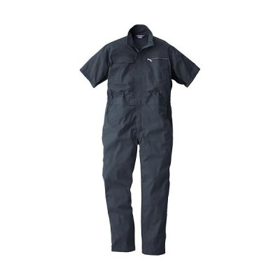 桑和(SOWA) 半袖続服 23/チャコールグレー S〜LLサイズ 39017 作業着 作業服 ワークウェア ウエア つなぎ メンズ