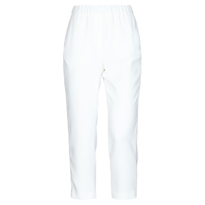 ペゼリコ PESERICO パンツ ホワイト 44 ポリエステル 100% パンツ