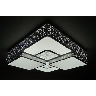 LEDシーリングライト DLKC012 調光調温 リモコン三段調節 (間接照明 おしゃれ 天井照明 デザイン インテリア 北欧)