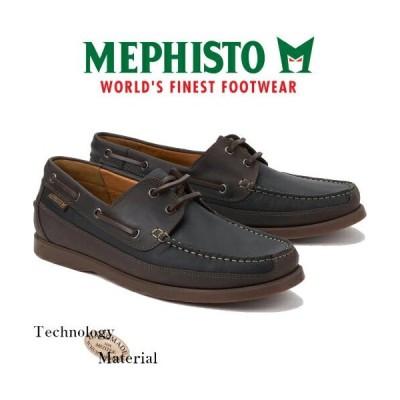 10%off MEPHISTO JAPAN メフィスト 正規取扱い BOATING BLACK 靴 メンズ 本革 ポルトガル製 【沖縄・離島は送料無料対象外】