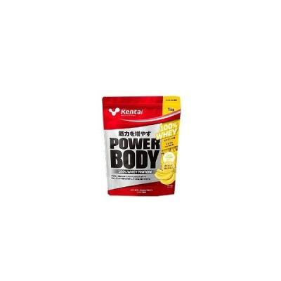 パワーボディ 100%ホエイプロテイン バナナラテ風味 1kg