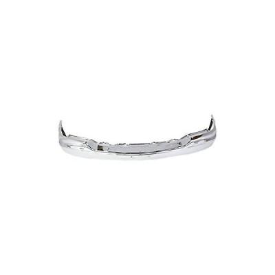 送料無料 MBI AUTO - Chrome, Steel Front Bumper Face Bar for 1999-2002 GMC Sierr