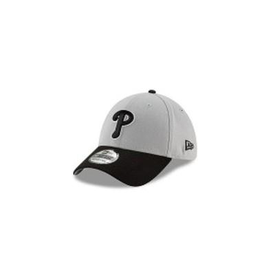 ニューエラ レディース 帽子 アクセサリー Philadelphia Phillies Team Classic Gray Black White 39THIRTY Cap Gray/Black/White
