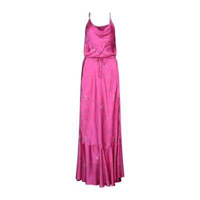マニラ グレース MANILA GRACE ロングワンピース&ドレス フューシャ 46 レーヨン 100% ロングワンピース&ドレス