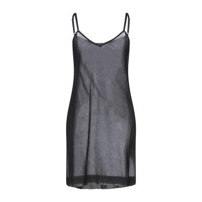 SOEUR ミニワンピース&ドレス ブラック 40 コットン 100% ミニワンピース&ドレス