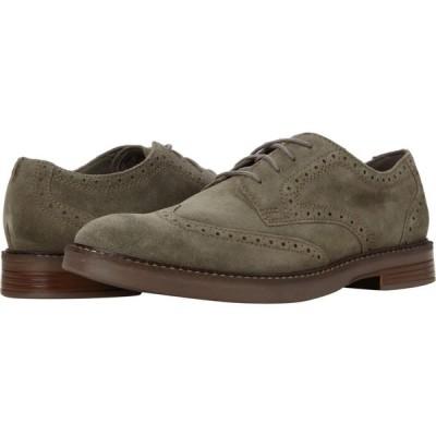 クラークス Clarks メンズ シューズ・靴 Paulson Wing Olive Suede