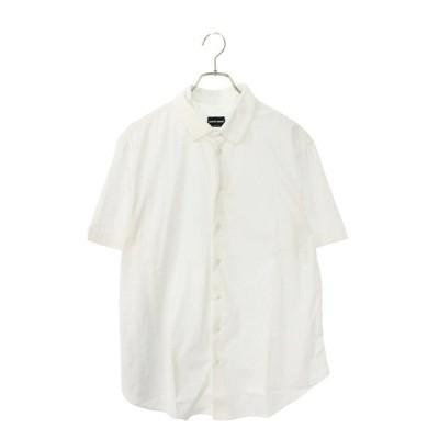 ジョルジオアルマーニ GIORGIOARMANI サイズ:44 コットン半袖シャツ 中古 BS99