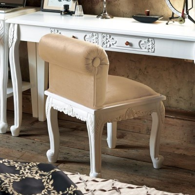 家具 収納 イス チェア スツール アンティーククラシックシリーズ ローバックスツール 548711