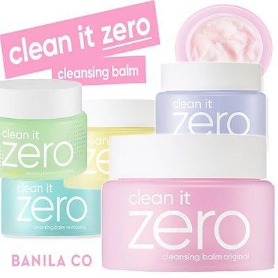 みんなが絶賛!!クリーンイットゼロクレンジングバームBanila Co Clean It Zero