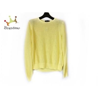 ドゥロワー 長袖セーター サイズ1 S レディース - イエロー クルーネック/カシミヤ/シルク   スペシャル特価 20210426