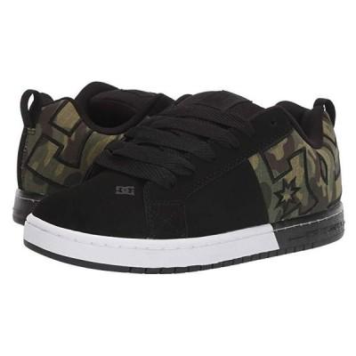 ディーシーシュー Court Graffik SQ メンズ スニーカー 靴 シューズ Black/Camo