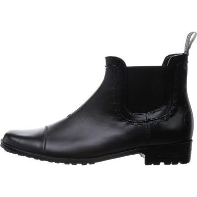 キャサリンハムネットロンドン ビジネスシューズ サイドゴアレインブーツ 31999 メンズ ブラック 25 cm