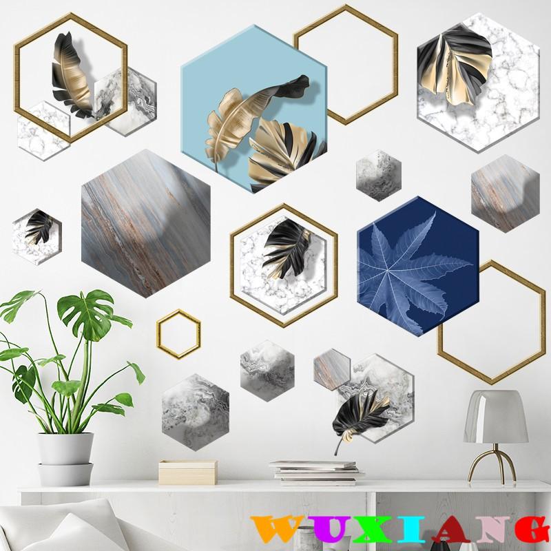 【五象設計】牆貼可移除客廳臥室玄關走廊牆上裝飾品自粘輕奢簡約裝飾畫背膠