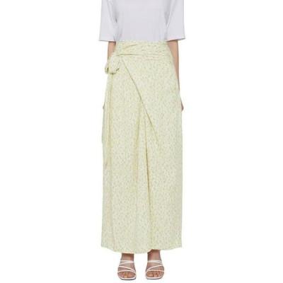 somedayif レディース スカート Sketch wrap long skirt