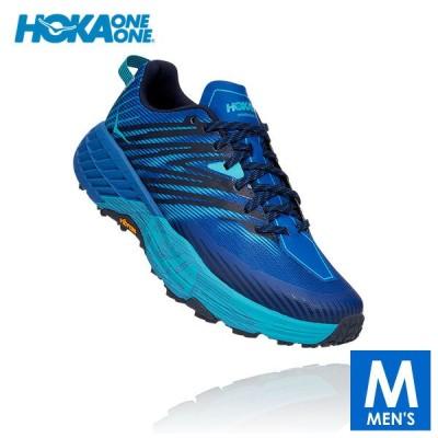 HOKA one one(ホカ オネオネ) メンズ トレイルランニング シューズ SPEEDGOAT 4【トレイルランニングシューズ トレイルラン トレラン 靴】
