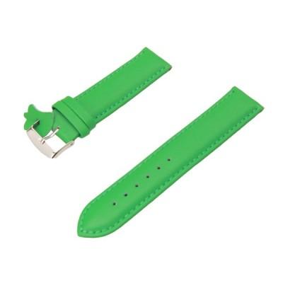 腕時計 ベルト 本革 20mm レザー バンド Diloy302エッセンシャル グリーン