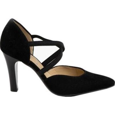 アラ ara レディース ヒール シューズ・靴 Felisa 18916 Pointed Toe High Heel Black Samtchevro