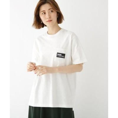 BASE STATION / ベースステーション BOX ロゴ 刺繍 半袖 Tシャツ