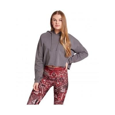 Niyama Sol レディース 女性用 ファッション アクティブシャツ Leucadia Crop Hoodie - Carbon