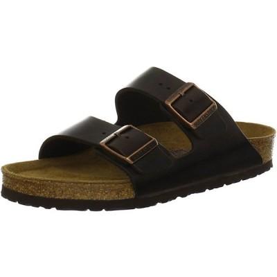 ビルケンシュトック サンダル レディース シューズ Birkenstock Arizona Soft Footbed Sandal Brown Amalfi Leather
