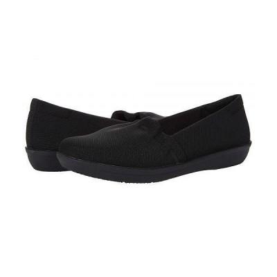 Clarks クラークス レディース 女性用 シューズ 靴 ローファー ボートシューズ Ayla Shine - Black Textile