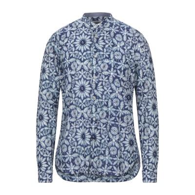 TINTORIA MATTEI 954 シャツ ブルー 39 コットン 100% シャツ