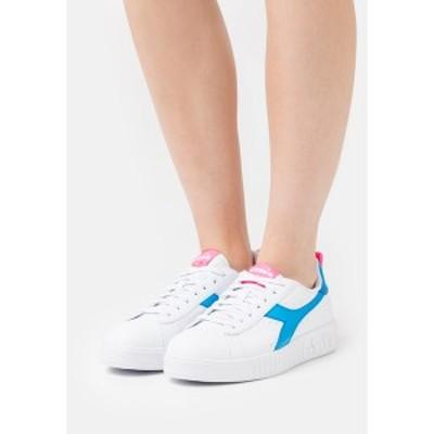 ディアドラ レディース スニーカー シューズ GAME STEP LUCID - Trainers - white/blue white/blue