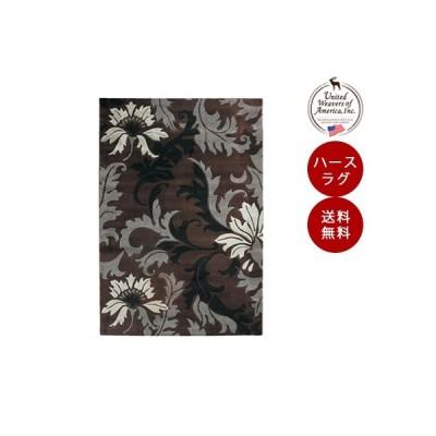 ハースラグ  オーリンズ スモークブルー <ハースラグ>[品番:UW21166H] ラグマット/絨毯/カーペット/薪ストーブ アクセサリー/ラグ/耐熱性
