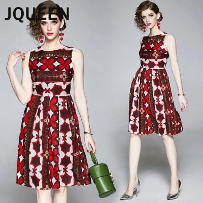 JQUEEN パーティードレス 結婚式 花柄 ワンピース フォーマルドレス お呼ばれ ドレス フォーマル 服 服装 ミセス ブライズメイド 大人 上品 20代30代40代