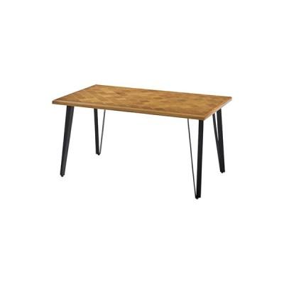 ジョーカー ダイニングテーブル テーブル 幅138 奥行81 高さ72 138×81 木製 アイアン ナチュラル おしゃれ モダン 北欧 シンプル カフェ風